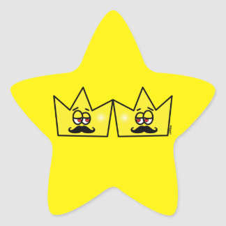 Gay King Rei Crown Coroa Star Sticker