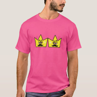 Gay King Rei Crown Coroa T-Shirt