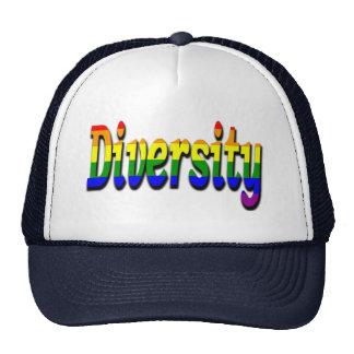 Gay & Lesbian  Diversity In rainbow flag Colors Trucker Hat