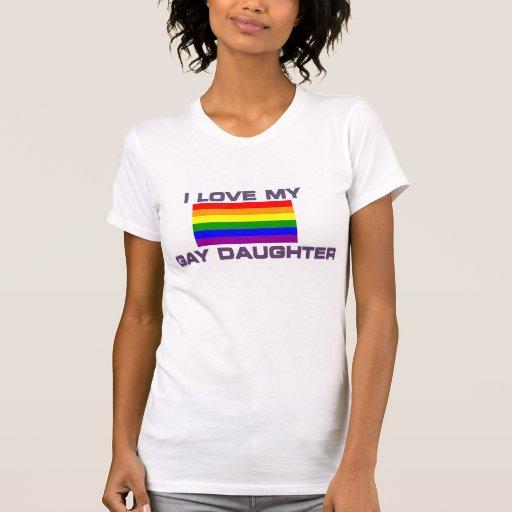 Gay & Lesbian - I Love my gay daughter - Shirt