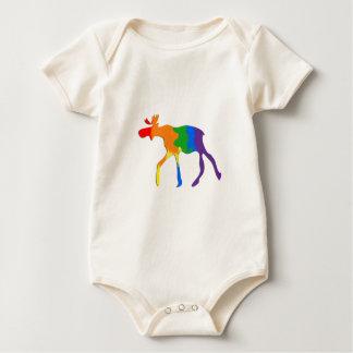Gay & Lesbian Pride Canada Moose Baby Bodysuit