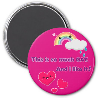 Gay magnet. Like it! - Pink Magnet