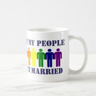 Gay Marriage and Equality Basic White Mug