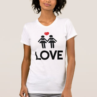 Gay Marriage Shirt Love For Women