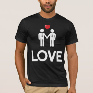 Gay Marriage Shirt With Love Black