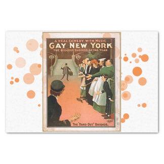 Gay New York Tissue Paper