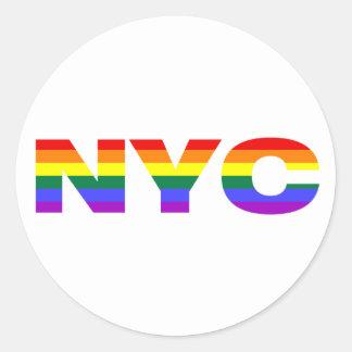 Gay NYC sticker