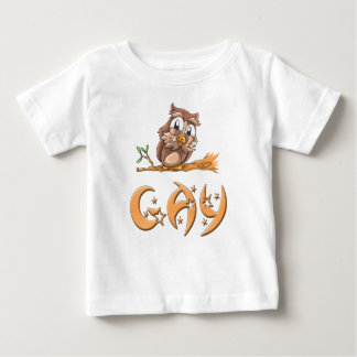 Gay Owl Baby T-Shirt