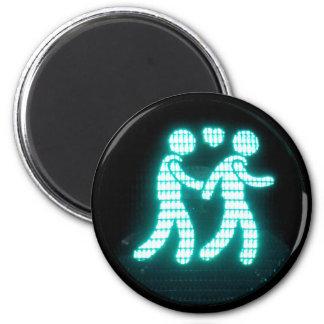 Gay Pedestrian Signal Magnet