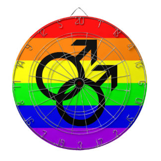 Gay Pride Dartboard