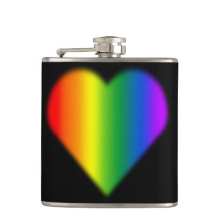 Gay Pride Drink Flask Rainbow Love Flasks Gifts
