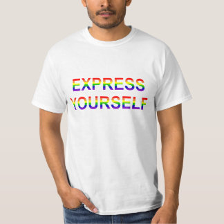 Gay Pride - Express Yourself T-Shirt
