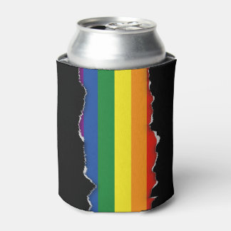 Gay pride Flag Can Cooler