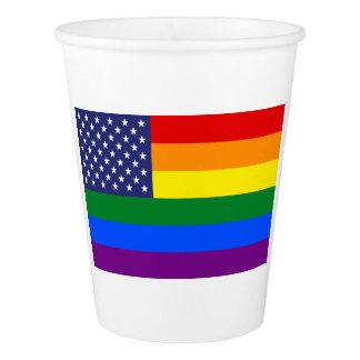 """""""GAY PRIDE FLAG"""" PAPER CUP"""