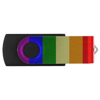 Gay Pride Flag USB Flash Drive