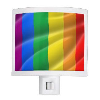 GAY PRIDE FLAG WAVY DESIGN - 2014 PRIDE NITE LIGHT