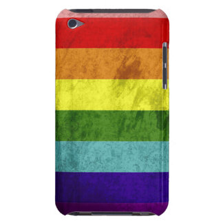 Gay Pride Grunge Flag Barely There iPod Cases