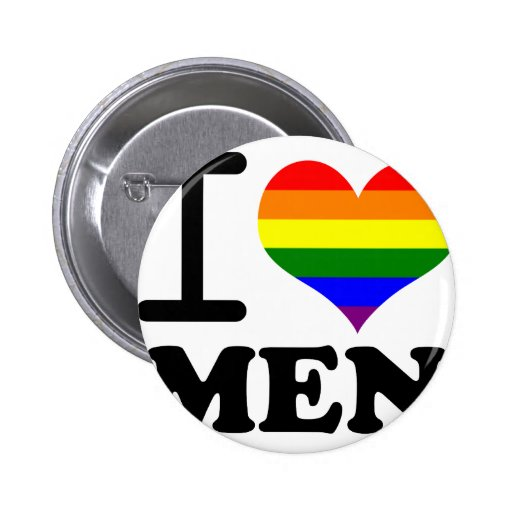 Gay Pride - I love my mate Pinback Button