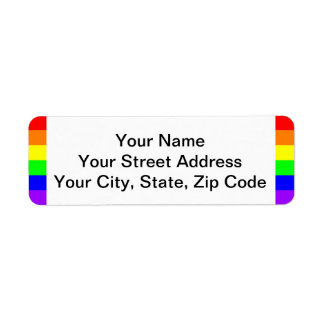 Gay Pride LGBT Pride Return Address Label For You!