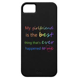 "Gay Pride - ""My girlfriend is"" iPhone 5 Cases"