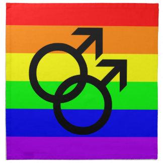 Gay Pride Napkin