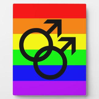 Gay Pride Plaque