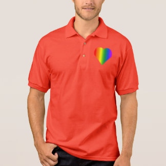 Gay Pride Polo Shirt Men's Same-Sex Love Shirts