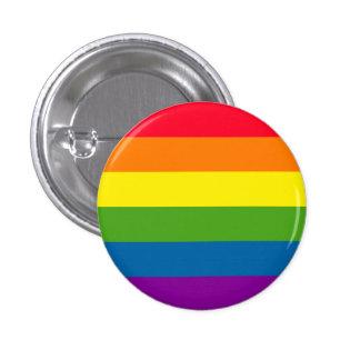 Gay Pride Rainbow Button