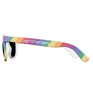 Gay Pride Rainbow Colors Sunglasses