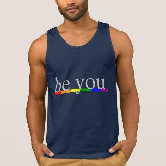 Gay Pride Rainbow Flag Be you