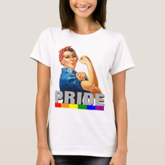 Gay Pride Rainbow Flag Do it With Pride T-Shirt