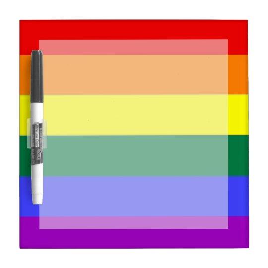 Gay Pride Rainbow Flag Dry Erase Boards