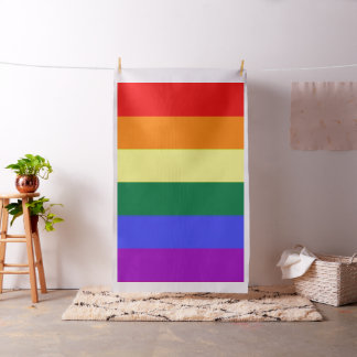 Gay Pride Rainbow Flag Fabric
