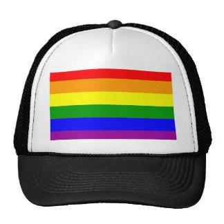 Gay Pride Rainbow Flag Trucker Hat