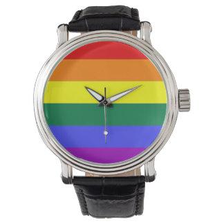 Gay Pride Rainbow Flag Watch