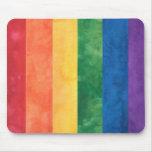Gay Pride Rainbow Mouse Pad