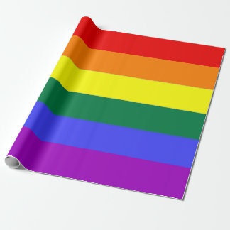 Gay Pride Rainbow Wrapping Paper
