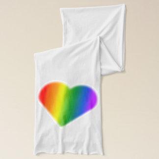 Gay Pride Scarf Lady Love Rainbow Scarf