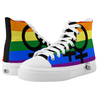 Gay Pride Shoes