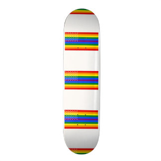 Gay Pride US Flag - Stars and Stripes Skate Deck