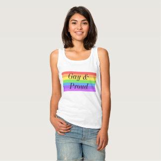 Gay & Proud Rainbow Shirt