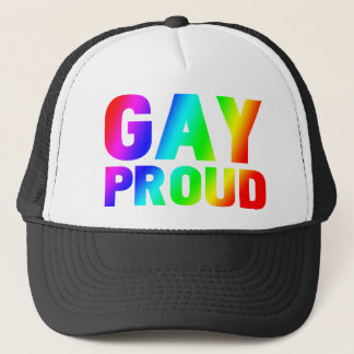 GAY PROUD TRUCKER HAT