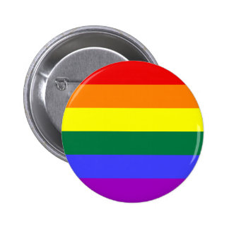 Gay Rainbow button