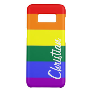 Gay Rainbow Pride Personalized Case-Mate Samsung Galaxy S8 Case