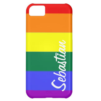 Gay Rainbow Pride Personalized iPhone 5C Covers