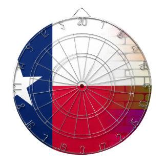 Gay Rainbow Wall Texan Flag Dartboard With Darts