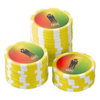 Gay Rainbow Wedding Poker Chips Set