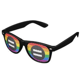 Gay Rights Flag Retro Sunglasses