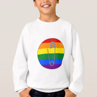 Gay Rights Safety Pin Sweatshirt