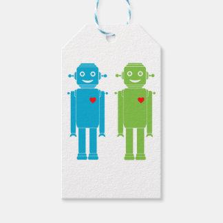 Gay Robots Gift Tags